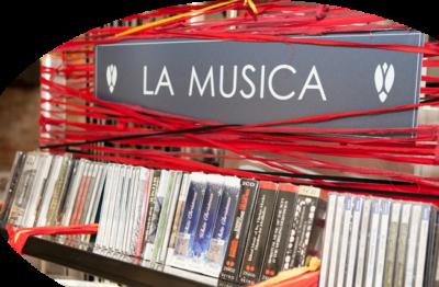 musica libreria la Cicala